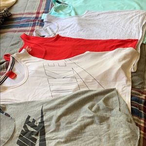 Nike, UA, old navy tank tops